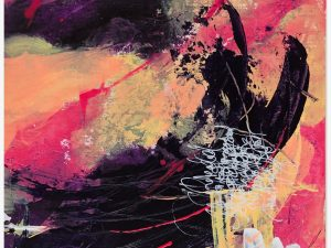 Isa Dor Art Abstrait sur Papier