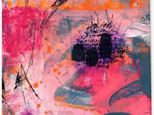 Isa Dor Abstract Art on Paper